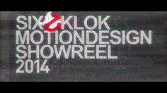 Reel 참고  SIXOKLOK MOTION DESIGN SHOWREEL 2014