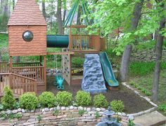 sandbox combined with swingset area? Or keep seperate?