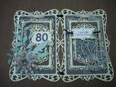 80 jaar ! een kaart voor een speciale verjaardag.