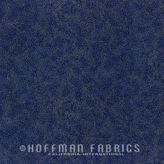 Hoffman Sparkle /& Fade P4322 4S Black//Silver  Cotton Fabric BTY