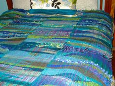Gorgeous Saori Blanket