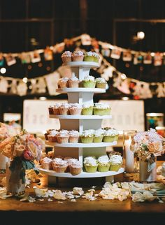 Cupcake tower!! Buttersweet bakery East point GA!