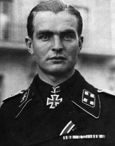 Max Wünsche (20 April 1914 — 17 April 1995) was a SS-Standartenführer in the Waffen-SS during World War II who was awarded the Knight's Cross of the Iron Cross with Oak Leaves.