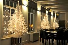 verhuur witte kerstboom just marie
