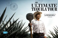 """The town of Tequila lies about an hour's drive west of Guadalajara, Mexico. Guillermo """"makes an ultrapremium tequila called Fortaleza, the way his tatarabuelo (great great-grandfather) did, by crushing agave with a tahona — a stone shaped like a wheel that weighs more than a ton — and distilling it in copper stills. The Fortaleza distillery doesn't have scheduled tours, but it welcomes visitors by appointment."""" (by Michael Shapiro)"""
