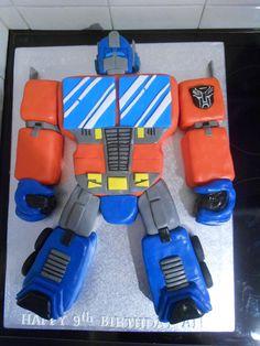Optimus Prime CAKE www.sheenascakery.com