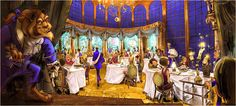 2. Be Our Guest Restaurant: Feast in one of 3 incredible dining rooms in the middle of Beast's Castle #momselect #newfantasyland