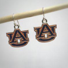 A personal favorite from my Etsy shop https://www.etsy.com/listing/466181422/auburn-tigers-earrings-auburn-university