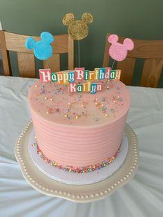 Pocahontas Birthday Party, Disney World Birthday, Disneyland Birthday, First Birthday Party Themes, 10th Birthday Parties, Diy Birthday Decorations, Third Birthday, Birthday Celebration, Disney Cakes