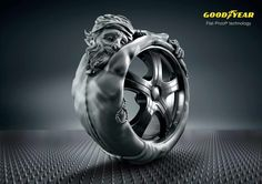 Goodyear: Flat-Proof Advertising Agency: Leo Burnett, Berlin, Germany
