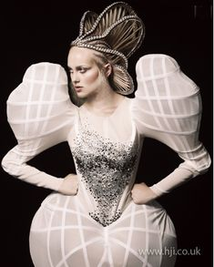 Avant Garde hairdresser of the Year 2010 - Efi Davies