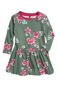 Tea Collection 'Jianzhi' Bubble Dress (Baby Girls) available at #Nordstrom