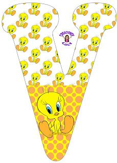 Tweety, Winnie The Pooh, Playing Cards, Baby Shower, Pie, Alphabet, Amor, Baby Crafts, Welcome Signs