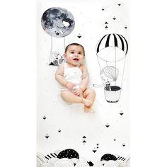 Frieda and The Balloon Crib Sheet – Shop Project Nursery