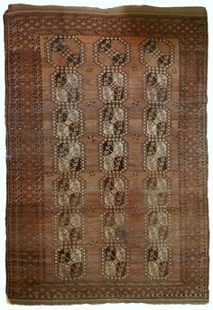 """Handmade antique Afghan Ersari rug with """"Elephant foot"""" pattern Peach Orange, Orange Shades, Country Of Origin, Decorating Your Home, Colorful Backgrounds, Bohemian Rug, Hand Weaving, Elephant, Colours"""