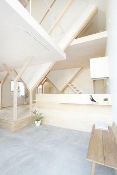 "House H by Hiroyuki Shinozaki Architects ""Location: Chiba, Chiba Prefecture, Japan"" 2012"