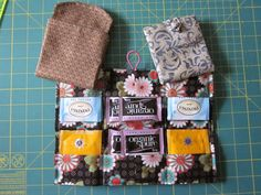Today, I'm going to try my hand at writing a tutorial for what I call a Twelve Bag Tea Wallet. A friend asked me to do this at a retreat bac...