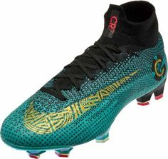 05b931573667f Nike Mercurial Superfly 6 Elite FG – CR7 – Clear Jade Metallic Vivid Gold