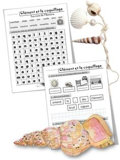 Image30 Expressions, Lectures, Word Search, Diagram, Voici, Words, Speech Language Therapy, Vocabulary, The Sea