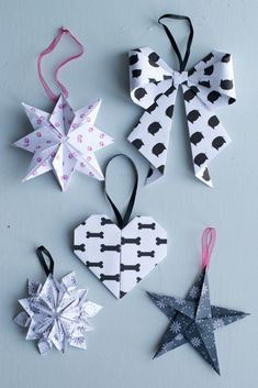 DIY 10 Origami Christmas Ornaments | Hungry Heart