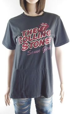 URUGUAY Lengua THE ROLLING STONES Oficial AMPLIFIED Camiseta Mujer