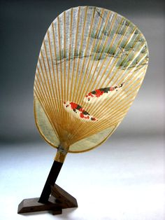 Japanese fan with fish