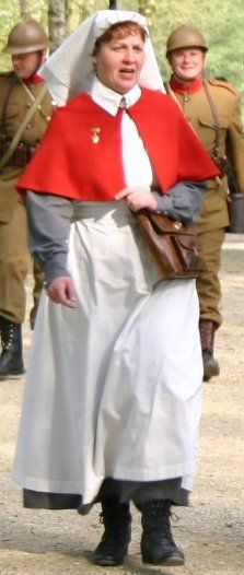 Reproduction Australian WWI nurses uniform