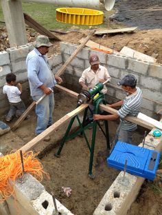 Joining Engineers Without Borders is a great way to get hands on engineering experience while helping a community!