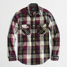 J.Crew Factory - Factory winterweight flannel workshirt