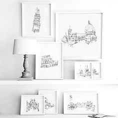 EVERY Studio es un proyecto fundado por dos australianas, Sarah Crowley y Alessia Pegoli, dedicadas al diseño y la arquitectura. Y justo es en esta serie de dibujos que unen a las dos disciplinas bosquejando construcciones sin ver el papel, logrando un resultado interesante y asombroso, al menos yo no puedo dibujar de esa manera aunque mire donde lo estoy haciendo.  Vía: Gutenver.tv