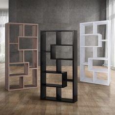 Javier Modern Zig Zag Display Shelving (High) | Overstock.com Shopping - The Best Deals on Media/Bookshelves
