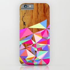 Wooden Multi Geo iPhone & iPod Case by Jenna Mhairi. Worldwide shipping available at Society6.com. Just one of millions of high quality products available.