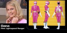 Dana Mitchell (Pink Lightspeed Rescue Ranger) - Power Rangers Lightspeed Rescue | Power Rangers Central