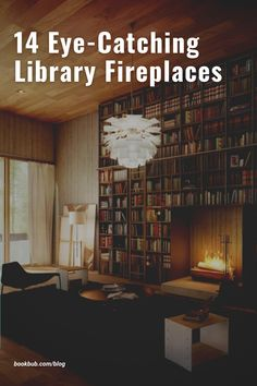 The ultimate list of cozy fireplace ideas for avid readers. #books #fireplaces #cozynook
