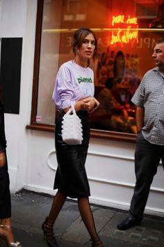 Street Muses...Alexa Chung