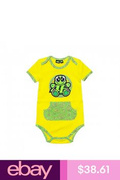 Valentino Rossi, Vr46, Baby Turtles, Playsuits, Baby Bodysuit, Outfit Sets, Mens Tops, Cotton, Outfits