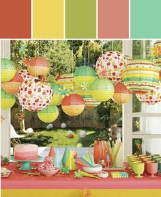 Oh Joy! Party Buffet Collection Designed By Lisa Perrone | Stylyze Creative Director via Stylyze