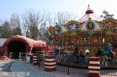 Kinderkarussell im Movie Park Germany - 2007