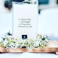 Our Candles are engraved and refillable. Visit our online-shop for more details. Candles, Table Decorations, Shop, Wedding, Vintage, Home Decor, Glass, Mariage, Homemade Home Decor
