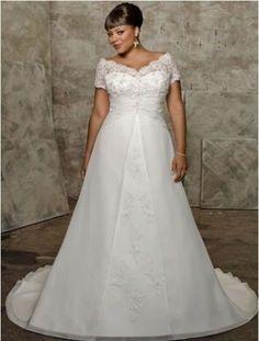New Plus White/Ivory Wedding Dress Bridal Gown Custom Size 18 20 22 24 26 28+