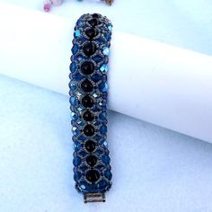 Gift for Her Elegant bracelet unique OOAK by Mammybluebeads