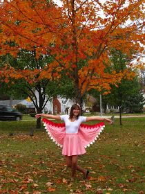 all dressed up and nowhere to go: Birds of a Feather Costume Tutorial, Part Two