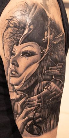 Tattoo Artist - Sandor  Pongor - horror tattoo