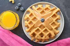 Who knew sugar-free keto waffles could be so fluffy and delicious?