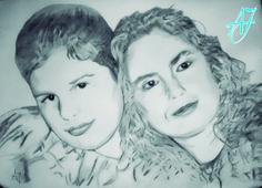 #AJ_ Madre e Hija inmortalizadas hasta la eternidad. Con lápiz de carboncillo sobre papel guarro A3.   Desde #benalmadena, #malaga, @AmparoJurado85 #docente2.0 #aj_informa con mucho #arte #pintura #carboncillo #lienzo #papel #creatividad #inspiracion #fotografia #art #lovingart #loveart desde #andalucia #españa porque #estaes_espania #estaes_andalucia #estaes_malaga #lovingmalaga #ilovemalaga #lovebenalmadena #costadelsol #regalosnavideños