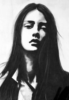 Charcoal drawing made by me - Mensch Abstract Charcoal Art, Charcoal Artists, Abstract Portrait, Watercolor Portraits, Portrait Art, Portrait Sketches, Art Drawings Sketches, Pencil Drawings, Abstract Sketches