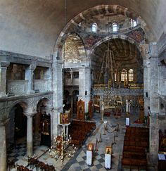 Panagia Ekatontapyliani (Our Lady of a Hundred Doors) is the oldest remaining Byzantine church in Greece. Classical Architecture, Beautiful Architecture, Paros Greece, Paros Island, Byzantine Art, Southern Europe, Kirchen, Greece Travel, Our Lady