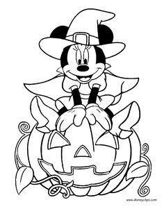 Elmo Halloween Disney Coloring Pages Printable And Book To Print For Free Find More Online Kids Adults Of