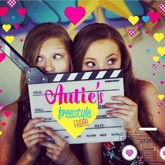 Autumn Miller and Sophia Lucia Autumn Miller, Dance Stretches, Dance Moms, Bffs, Tween, Jazz, Board, Youtube, De Stijl