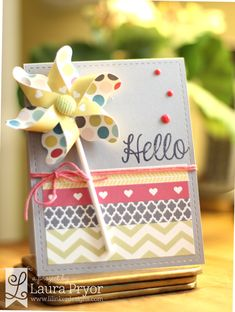 Lil' Inker Designs- The Store Blog: Just a Little Hello